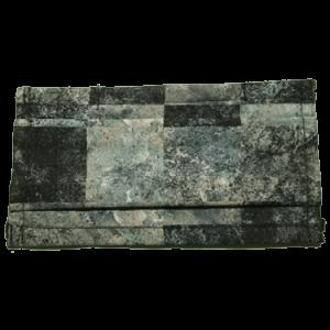Masque COVID-19 carreauté sablé