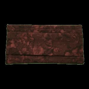 Masque COVID-19 feuillage bourgogne