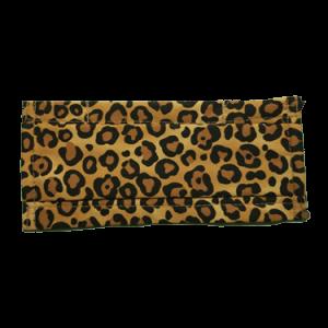Masque COVID-19 léopard