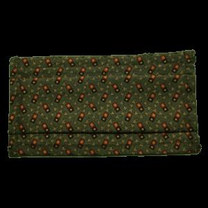Masque COVID-19 motif ipod sur fond vert