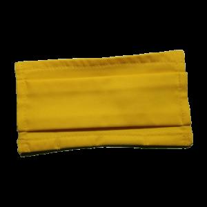 Masque COVID-19 moutarde