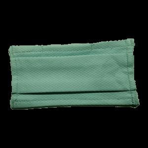 Masque COVID-19 turquoise pâle